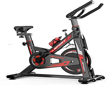 Liuxiaomiao Bicicleta de Spinning Bicicleta de Spinning Cubierta ...