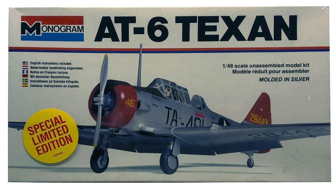 Amazon com : Monogram 1:48 AT-6 Texan Plastic Aircraft Model Kit