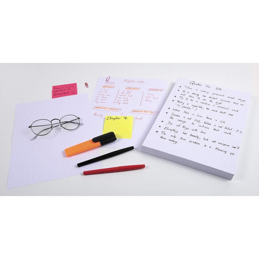 Exacompta 13838B Packung mit 100 Karteikarten, liniert, DIN A5, 14,8 x 21 cm, ideal f/ür die Schule 1er Pack rosa