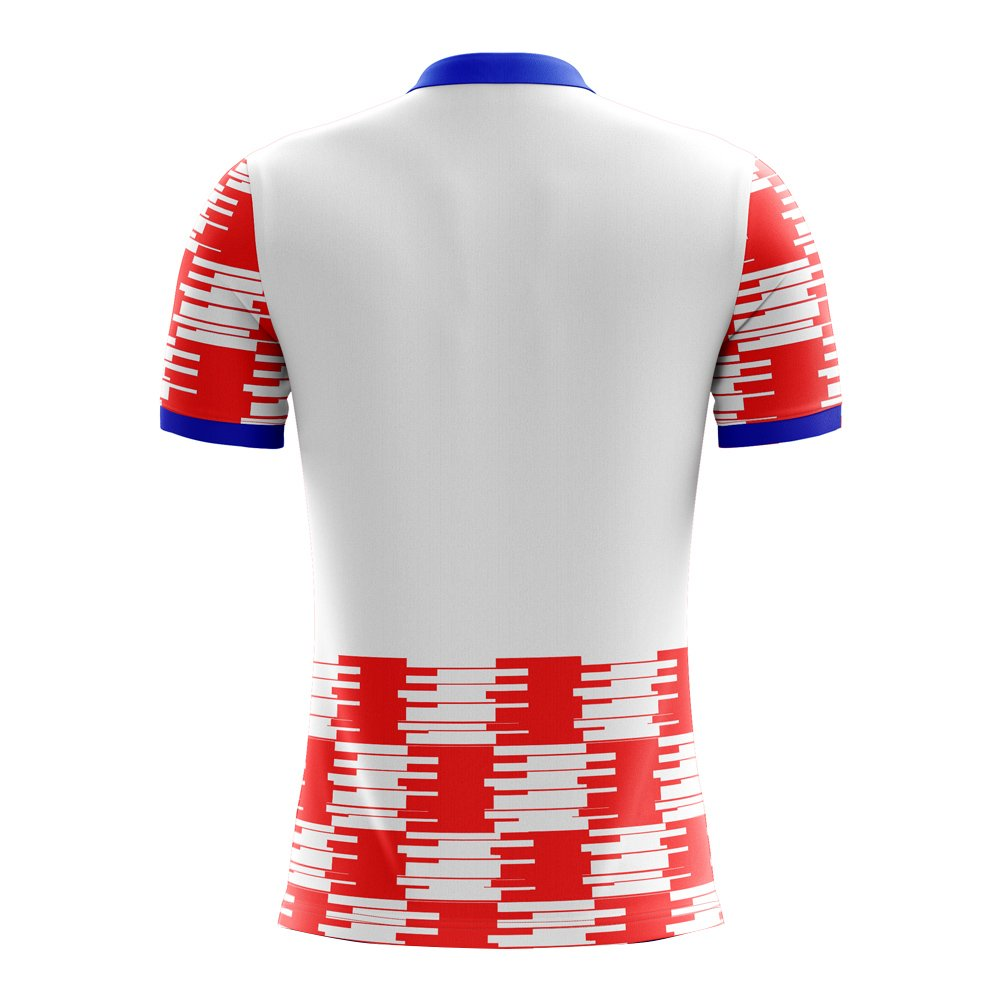 8a893470f35 Amazon.com   Airo Sportswear 2018-2019 Croatia Home Concept Football Soccer  T-Shirt Jersey   Sports   Outdoors