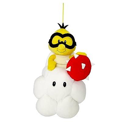 "Sanei Super Mario All Star Collection AC28 Lakitu 8"" Plush: Toys & Games"