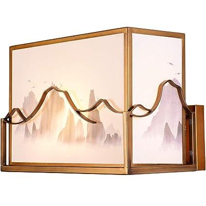 Amazon.com: Lámpara de pared estilo chino posmoderno ...
