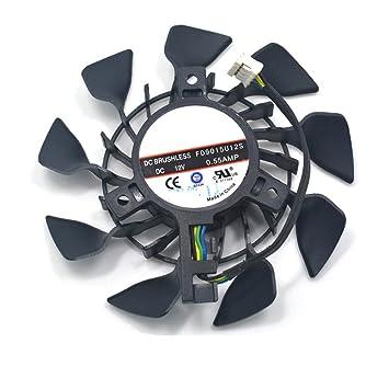 Amazon.com: fd9015u12s 95 mm ventilador de refrigeración DC ...