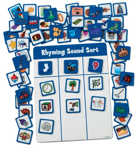 Rhyming Sounds Magnetic Match