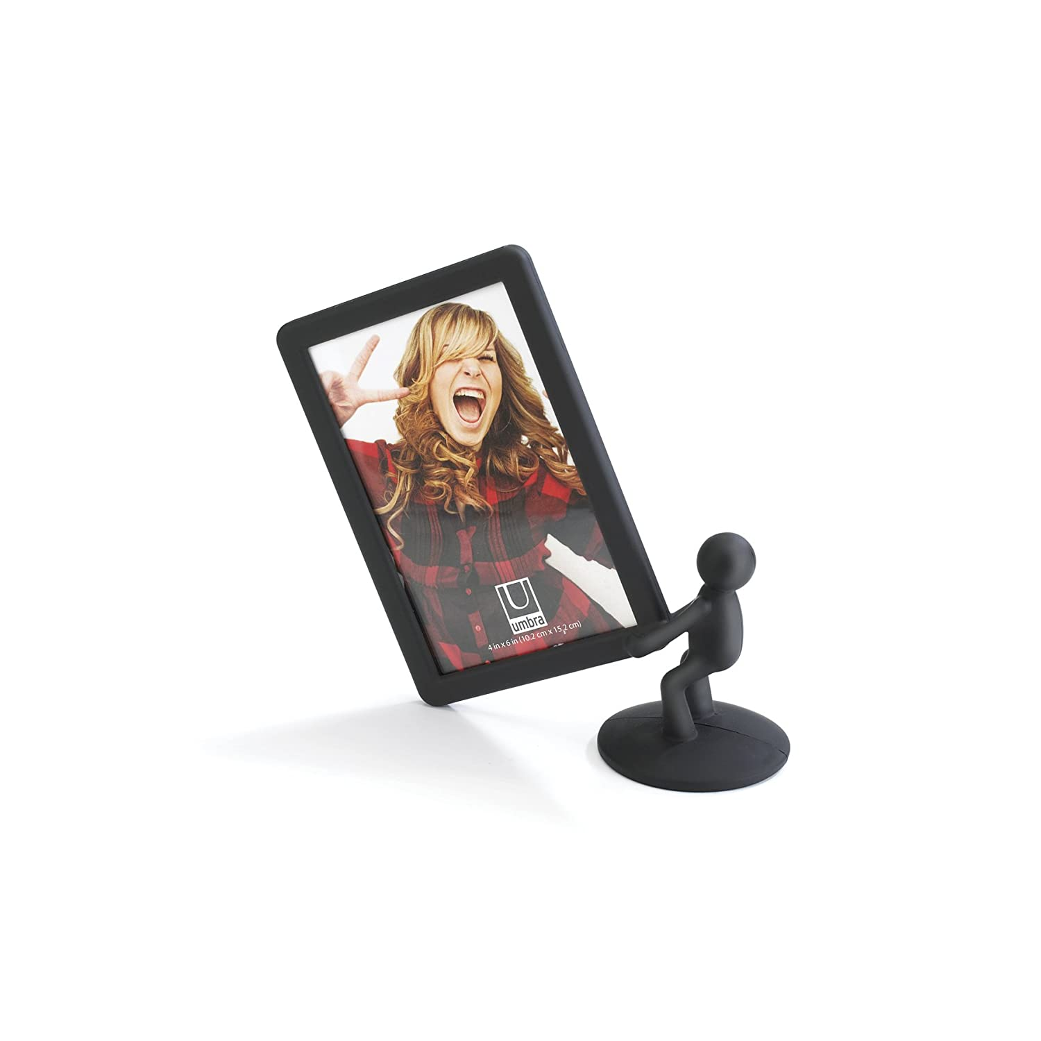 Amazon.com - Umbra Hercules 4-by-6-Inch Picture Frame, Vertical ...