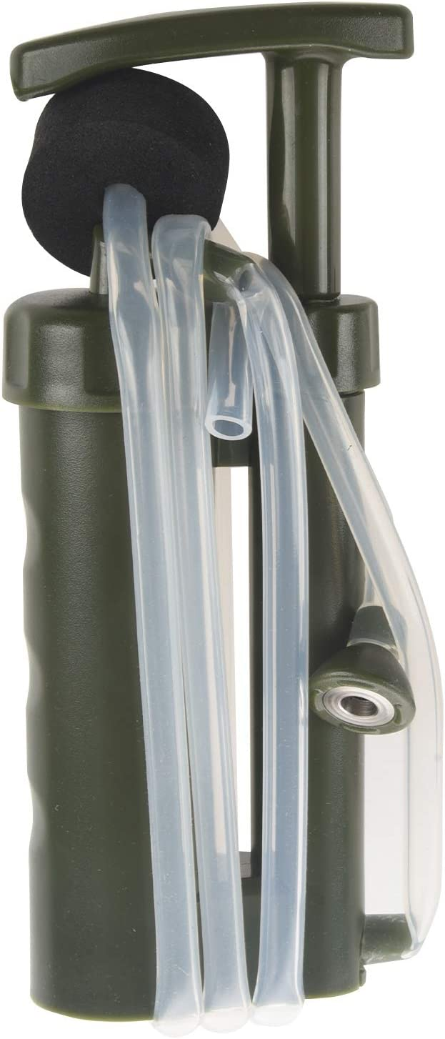 SNOWINSPRING Rein Einfach Wasser Filter Luftreiniger Reiniger 0,1 2000L Keramik Soldat Wasser Filter Au?en /überleben Camping Notfall