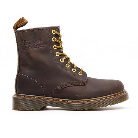 Dr. Martens 1460Smooth 59Last blanco, unisex adultos 'botas, color marrón, talla 46 EU