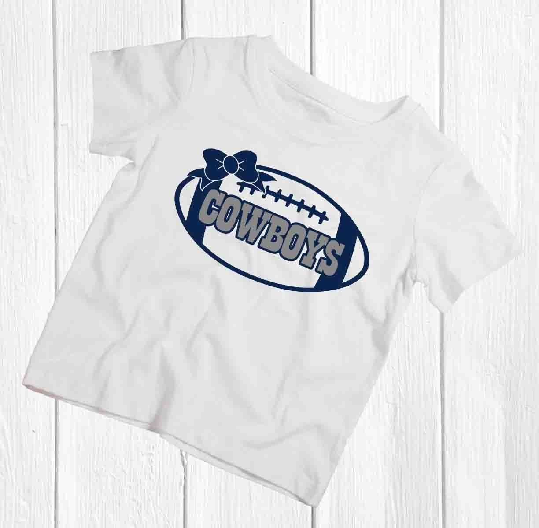 Amazon Girls Dallas Cowboys T Shirt Handmade