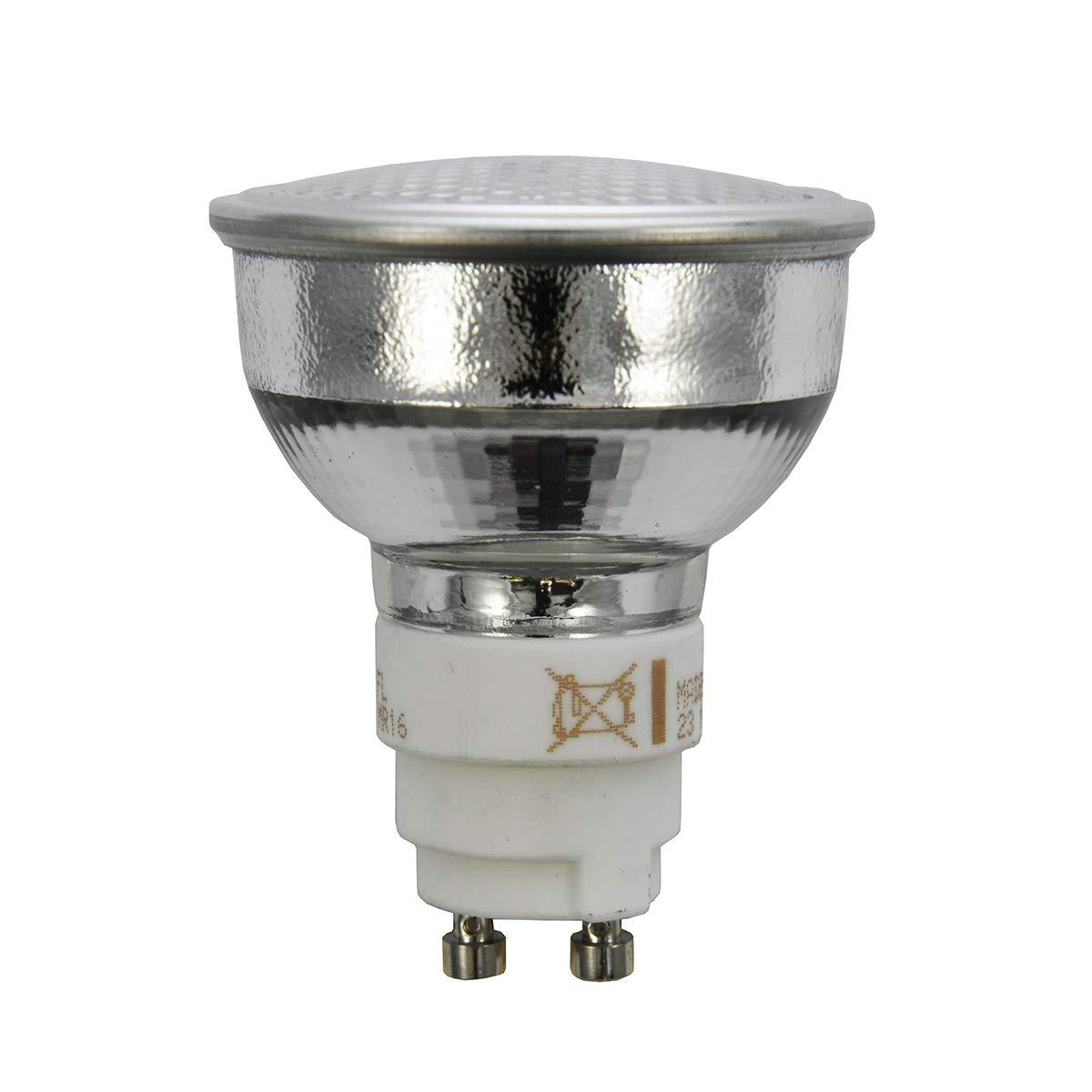 GE Lighting 85110 MR16 Ceramic Metal Halide Lamp 20 Watt GX10 Turn and Lock Base 1000 Lumens 80 CRI 3000K ConstantColor CMH