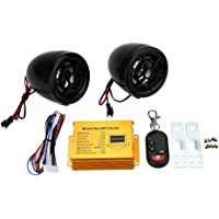 Auto Hub Anti Theft Alarm with MP3 Audio System Set
