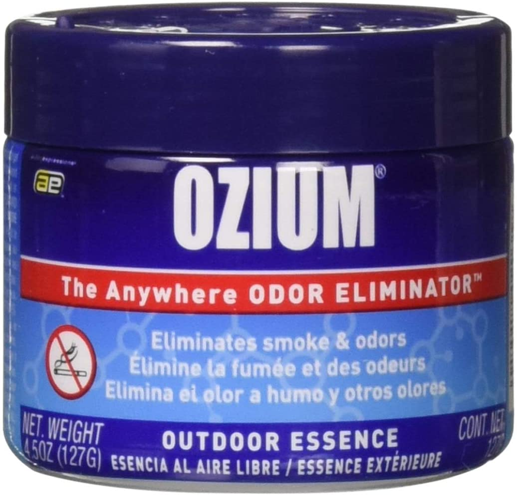 Ozium Smoke & Odors Eliminator and Car Air Freshener