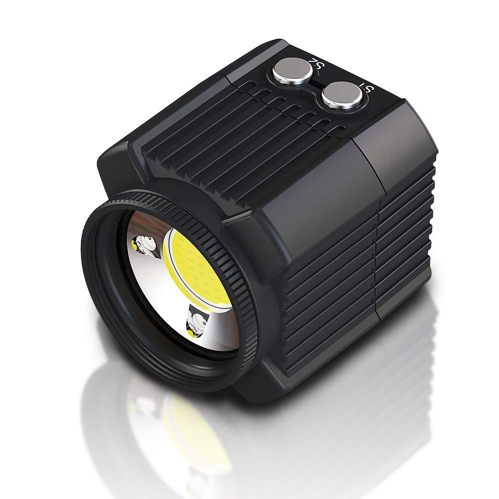 MEIKON Mini Waterproof led Light Scuba Diving Lights Fill-in Light for Waterproof housing Underwater Photographic Lighting System ...