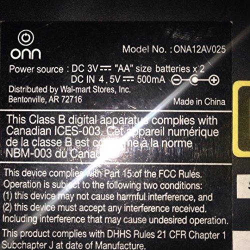 Onn Personal CD player ONA12AV025