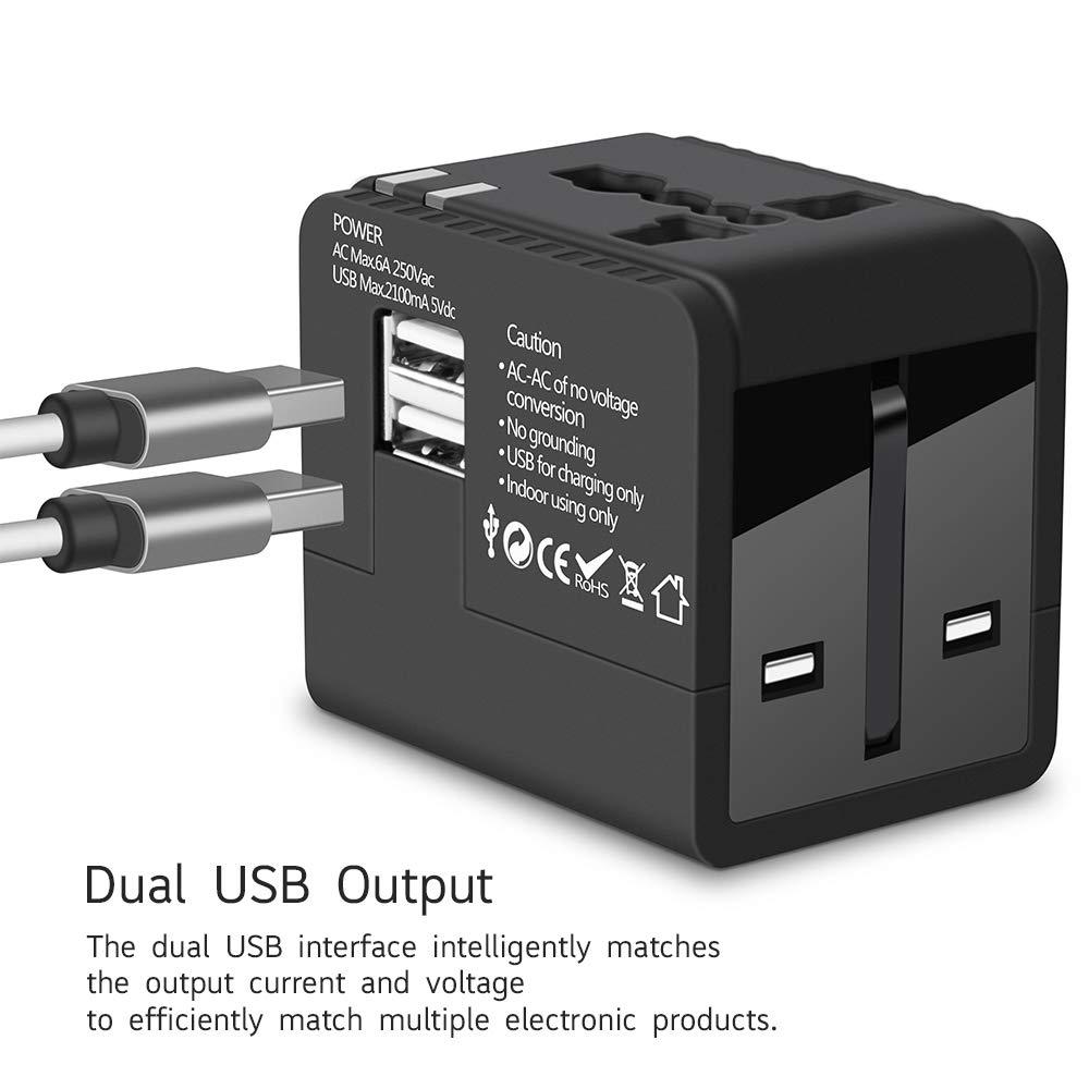 Universal 4 Port Schnell Schnellladung QC3.0 USB Ladegerät EU US UK Stecker AHS