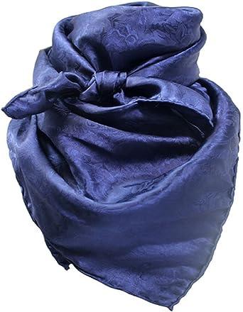 Wild Rag Charcoal Silk Jacquard