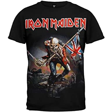 7db927c0 Amazon.com: Iron Maiden The Trooper T-Shirt: Clothing