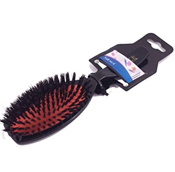 sibel classic 74 oval hair brush 100 boar bristle amazon co uk