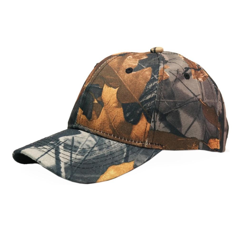 Adjustable Camouflage Cap, Moginp Field Survival Unisex Baseball Snapback Hat Moginp Field Survival Unisex Baseball Snapback Hat (B) Mo-1