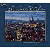 Lang January to December, 13.375 x 24 Inches, Perfect Timing Around the World 2015 Wall Calendar by Eugene Lushpin (1001779)