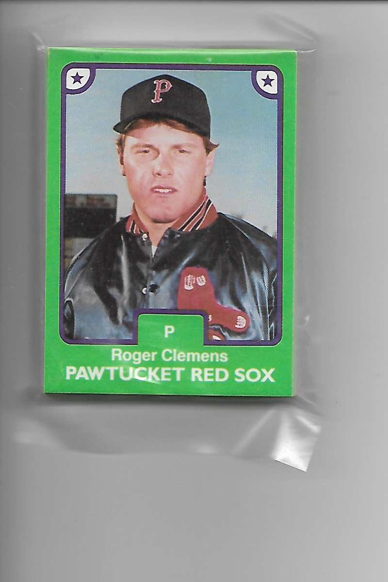 1984 Tcma 1st Printing Pawtucket Red Sox Set Of 25 Roger