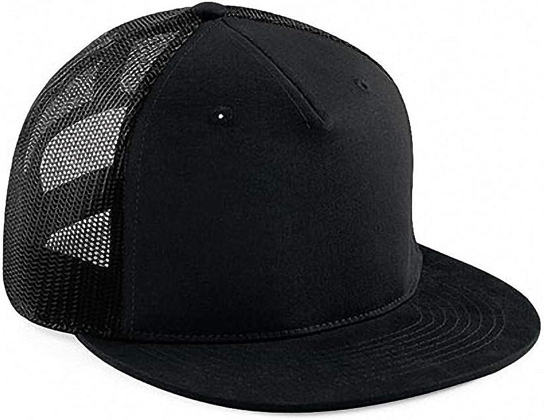 Signature 5 Panel Mesh Gorra negro/negro talla única : Amazon.es ...