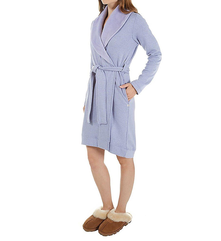 UGG Australia Women's Blanche Robe (Lavander Haze Heather,L)