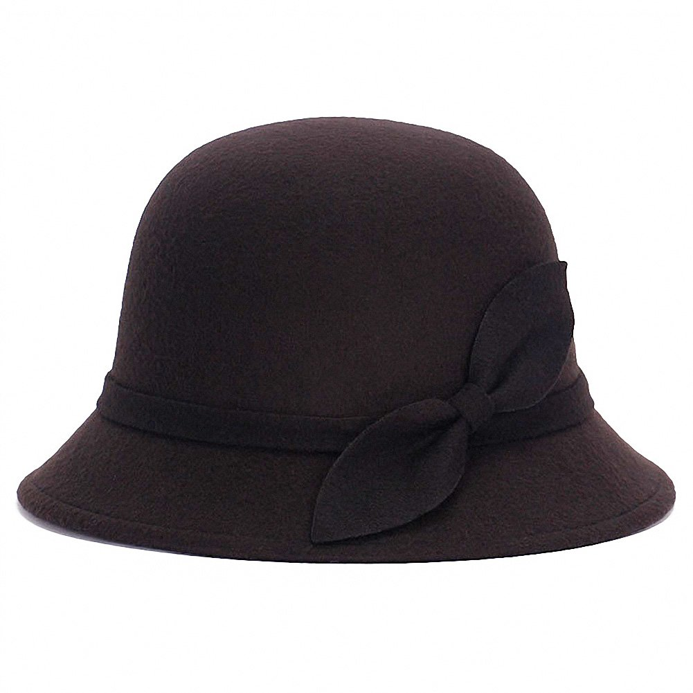 1920s Style Hats Tobe-U Cloche Bucket Bowler Fedora Floppy Derby Vintage Felt Hat Cap Women $9.99 AT vintagedancer.com