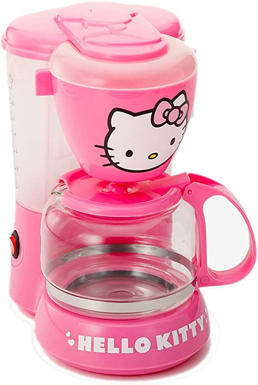 Amazon.com: Hello Kitty – Cafetera eléctrica: Kitchen & Dining