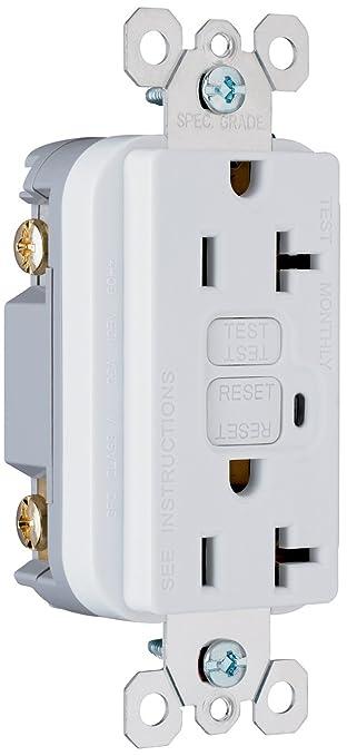 Amazon.com: Legrand-Pass & Seymour 2095WCC10 Gfci Receptacle 20-Amp ...