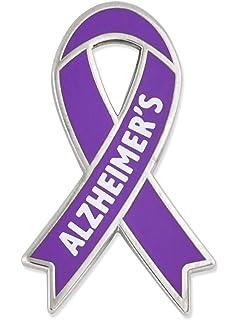3.5 yards Purple Ribbon Alzheimers Awareness foldover elastic headband Hair Ties