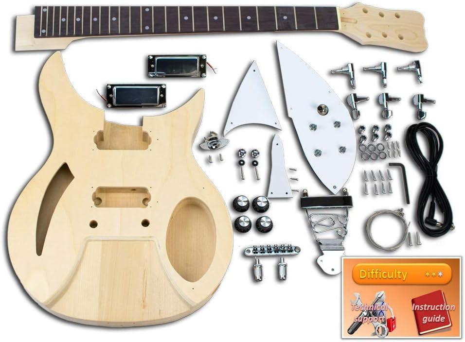 Kit de guitarra eléctrica – Rickenbacker, Basswood: Amazon.es: Instrumentos musicales