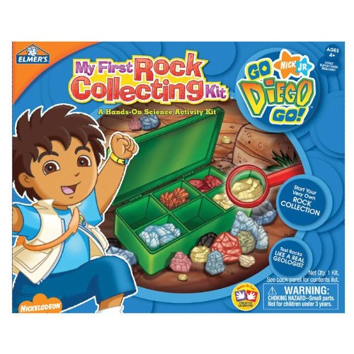 - Elmer's Education Diego My First Rock Collecting Kit