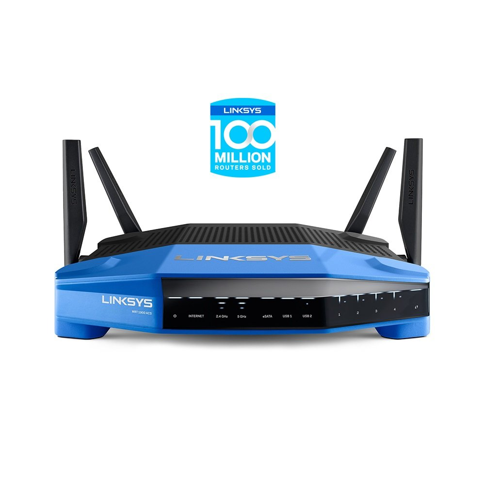 Linksys AC1900 Dual Band Open Source WiFi Wireless Router (WRT1900ACS) by Linksys (Image #2)