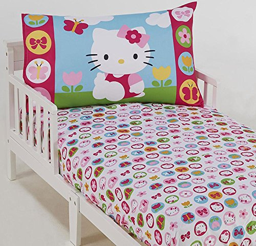 Hello Kitty 2-Piece Toddler Sheet Set - Hello Kitty Toddler Bedding Shopping Results