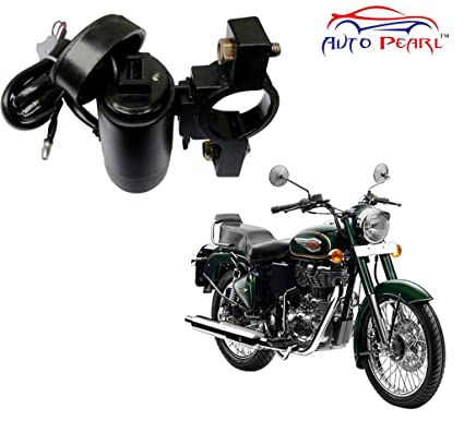 Auto Pearl Motor Bike Usb Mobile Charger For Royal Enfield Bullet