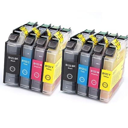 LC123 - Cartuchos de Tinta compatibles con impresoras Brother MFC ...