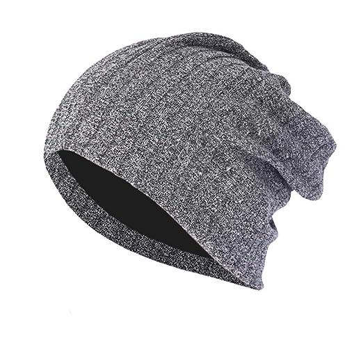 Yaseking Men Women Winter Knit Hat ce9576a95934
