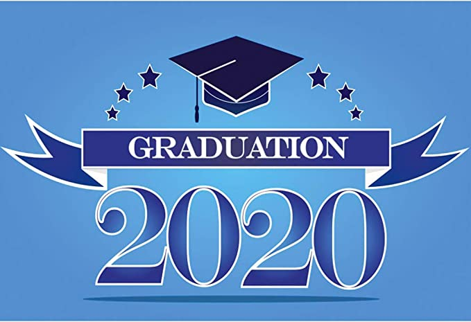 DORCEV 9x6ft Graduation Party Backdrop Class of 2020 Graduation Prom Photography Background Bachelor Cap Balloon Grad Celebration Party College Prom Party Banner Event Student Photo Studio Props