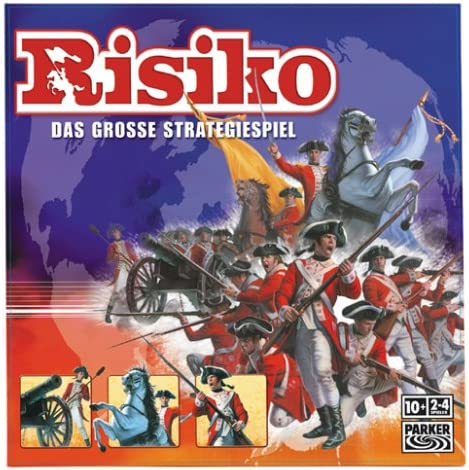 Hasbro 14575100 - Risk clásico, Juego de Estrategia (versión en alemán): Amazon.es: Juguetes y juegos