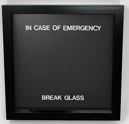 In case of emergency break glass novelty gift blank to fill as in case of emergency break glass novelty gift blank to fill as you wish maxwellsz