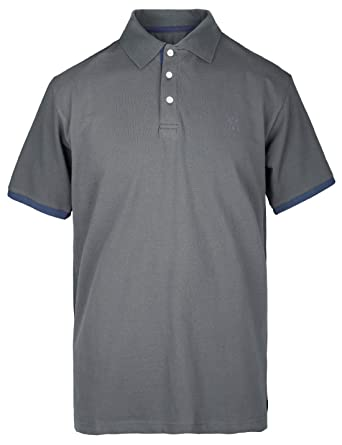 bd799c0ea Bakery Men's Polo Shirts Golf Pique Cotton Short-Sleeve Relaxed Contrast  Tipped Size M Dark