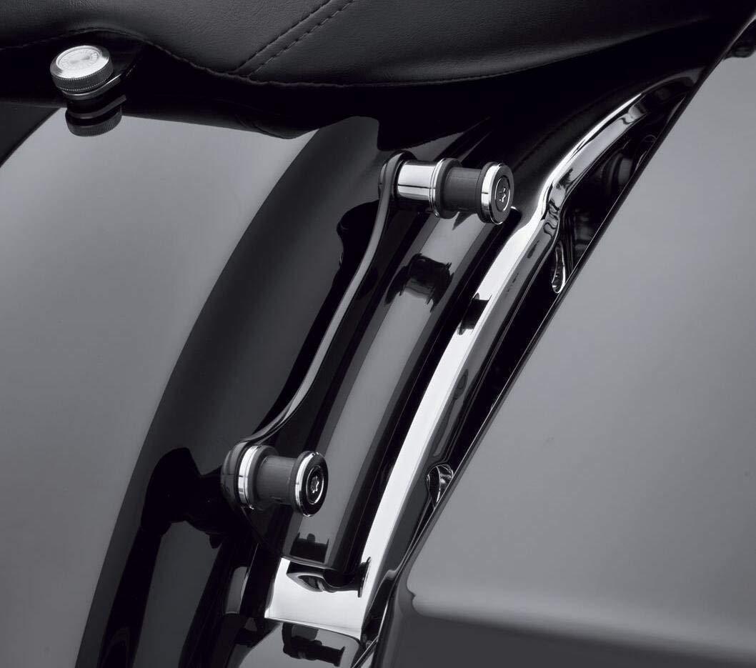 BBUT Matte Black Stealth Luggage Rack With Docking Kit Fit Harley Davidson Touring Street Glide Road Glide Road King Electra Glide 2014 2015 2016 2017 2018