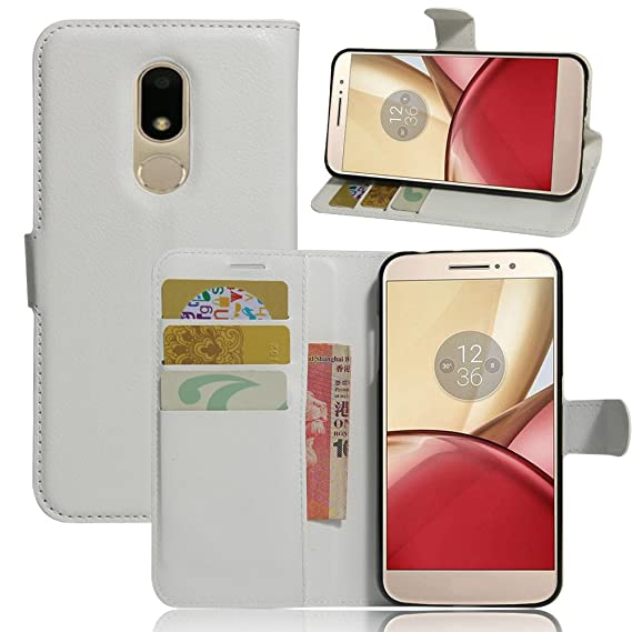 Amazon com: JARNING Motorola Moto M XT1663 XT1662 Case Leather