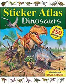 Dinosaur Sticker Atlas: 9781741857504: Amazon.com: Books