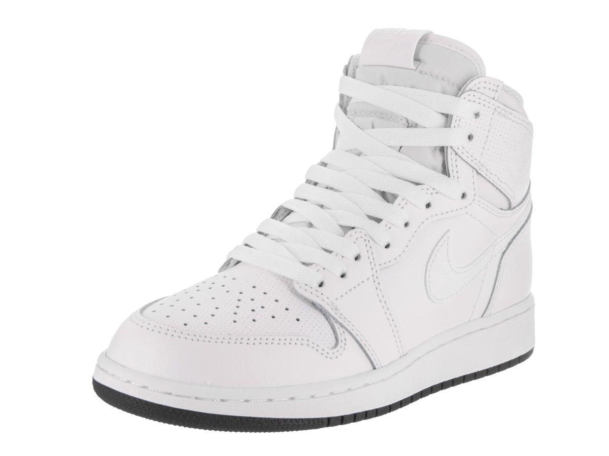 newest 3e193 a9435 Nike - Air Jordan 1 Retro High OG BG - 575441100 - Colore  Bianco-Nero -  Taglia  37.5  Amazon.it  Jordan  Libri
