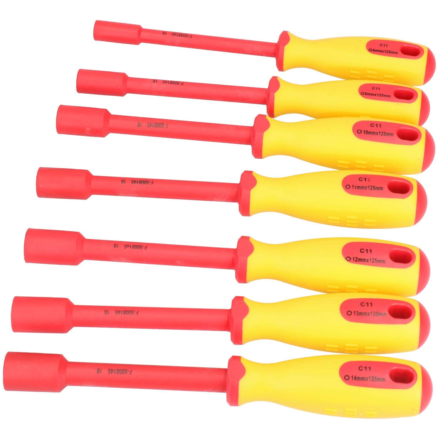 Nut Drivers Screwdrivers gaixample.org 7pc Metric VDE Insulated ...