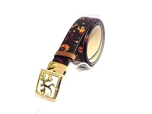 piero guidi – Cinturón – para mujer Multicolor 10 MARRONE T U