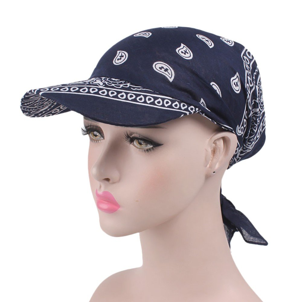Beladla Sombrero Mujer Vintage Floral Personalidad Casual Tapa del Turbante Ocio Gorra De BéIsbol: Amazon.es: Ropa y accesorios