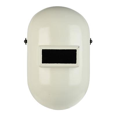 Fibre-Metal Pipeliner Fiberglass Welding Helmet with Rubber Headband (110PWE), White - Auto Darkening Welding Lens - .com