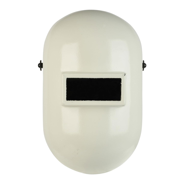 Fibre-Metal Pipeliner Fiberglass Welding Helmet with Ratchet Headgear (110WH), White